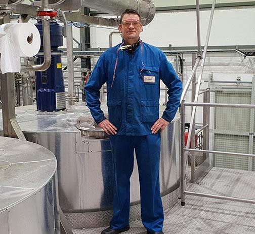 Laurent Fleutry, Veg'Extra, Montreuil-Bellay : renfort en solution hydroalcoolique