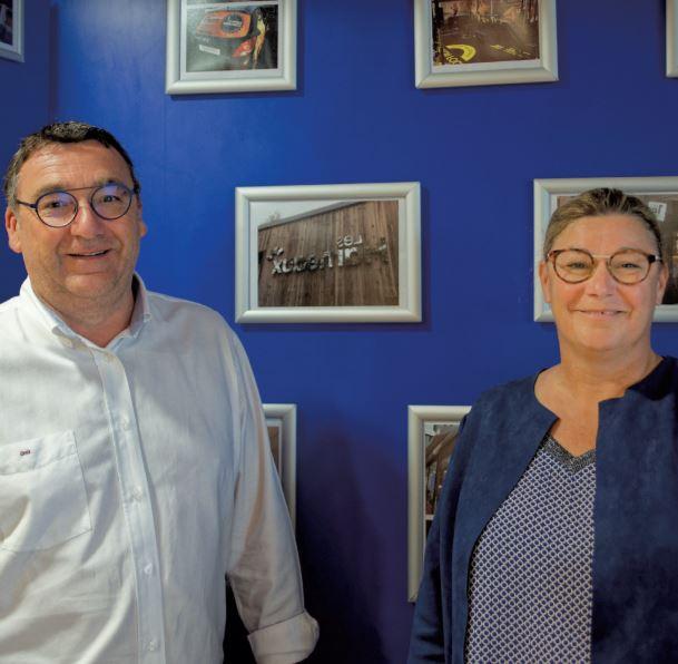 Géraldine Blanc et Fabrice Breau, SignalEthique groupe, Angers : suivez la flèche