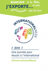 INTERNATIONAL WEEK : LE 2 OCTOBRE A ANGERS !