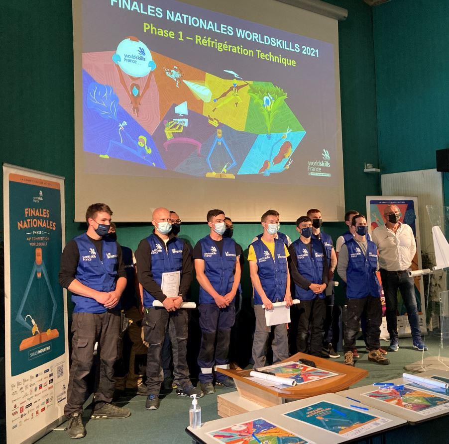Finale des WorldSkills, un beau début à Cholet